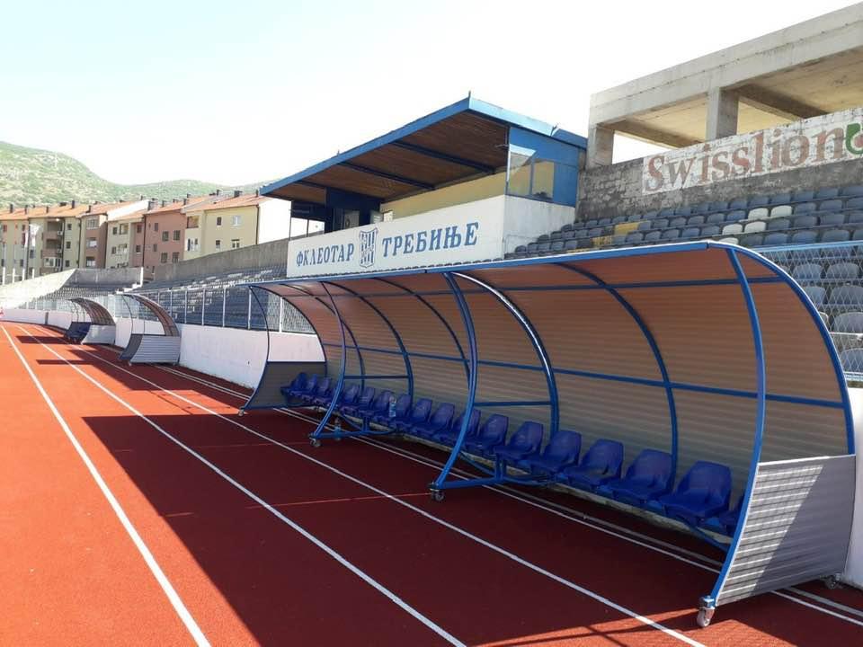 Kućice za rezervne igrače, FK Leotar Trebinje