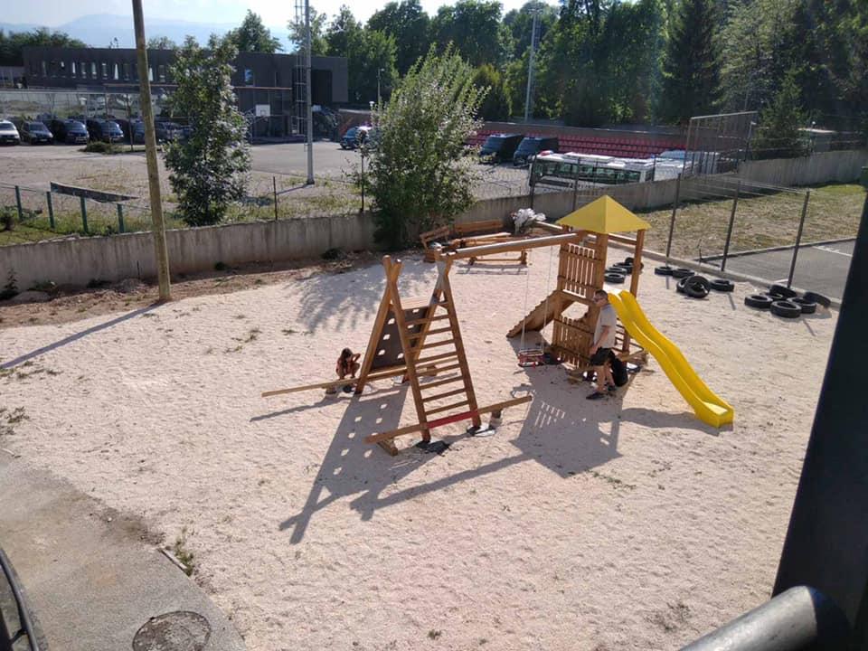 Dječije igralište, Sarajevo
