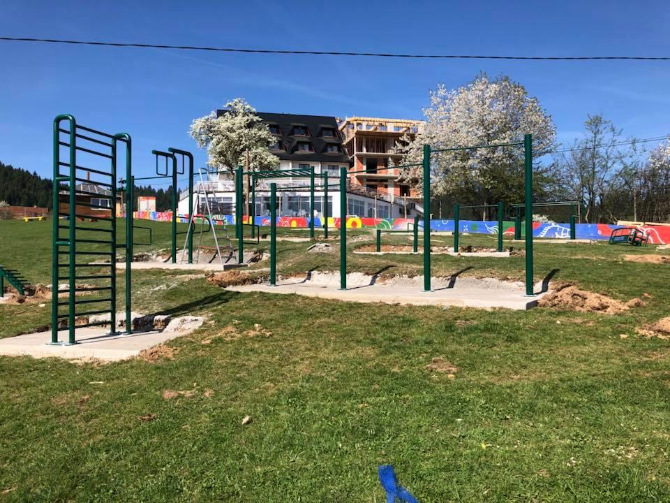 "Fitnes park na otvorenom, S.C. ""S.R.C.A."" Ajdinovici"